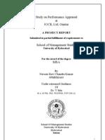 Project report on performance appraisal at JOCIL Ltd Guntur