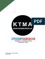 KTMA Academy - Student Handbook