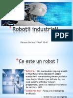 Roboţii industriali
