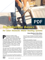 (eBooks) Diy - Home Power - Installation Basics for Solar Domestic Water Heating Systems Part 1