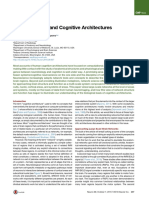 Brain Networks and Cognitive Architectures