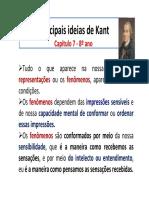 Principais Ideias de Kant - 8º Ano