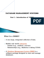 DBMS - Part 1 - Introduction.ppt