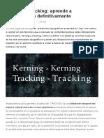 ¿Qué Es El Kerning_ ¿Qué Es El Traking__ Aprende a Diferenciarlos