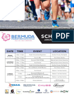 2019 Schedule Bermuda Marathon Race Weekend
