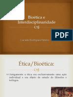 Bioética e Interdisciplinaridade