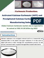 Calcium Carbonate Production