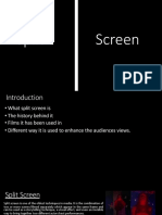 Split Screen Presentation