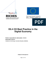 RICHES D5.4 CH Best Practice in the Digital Economy Public