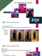 Baju Renang Muslim Anak Perempuan Fast Respon Wa 0812-1651-6069