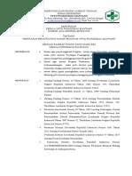 Sk Kepala Puskesmas Tentang Penetapan Penanggung Jawab Program UKM Dan UKP Di Puskesmas