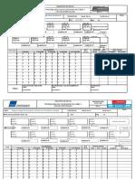IP EP F 009 Planilla de Control de Soldadura de Línea y Cruces Especiales
