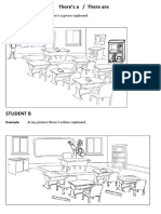 Spot the Differences Classroom There is There Are 62558