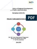 BSB 14-20 Project Implementation Manual