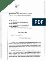 Interlocutòria que revoca l'arxiu de la investigació contra els acompanyants de Puigdemont