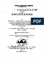 The Calculus for Engineers -2nd.ed.