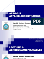 Lecture 1 Aerodynamic Variables
