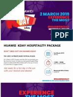 Huawei KDay DAY Hospitality 2019