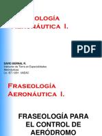 Fraseologia Control de Aeródromo