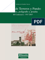 Esteban de Terreros y Pando