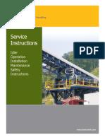 Idler Service Manual 2016-08-31