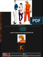 Guía de Movimientos '94 Art of Fighting Team the King of Fighters '98 Um Fe