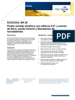 Ficha técnica Ecocool BR20