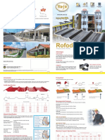 brochure for roofing materials