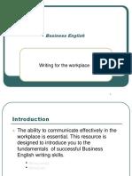 Business English - Writing Workplace1