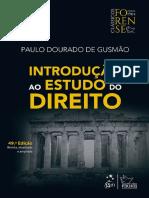 1666 Introduo Ao Estudo Do Direito Paulo Dourado de Gusmo 2018