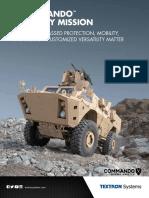 Commando Family Brochure TextronSystems 2016