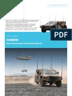 Hawkei PMV Brochure Thales Australia