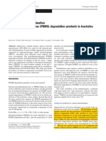 HPLC ICP-OES Determination of Water Soluble PDMS Deg Products in Leachates.0