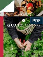 Colaboración en la revista Guatedining - Edición 46 - Diciembre 2018