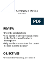 Uniform Accelerated Motion_lesson