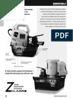 Enerpac Zu Series Pumps