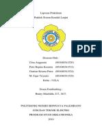 Laporan Praktek Sistem Kendali Lanjut