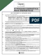 Cesgranrio 2010 Epe Analista de Pesquisa Energetica Recursos Energeticos Prova