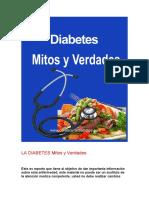 Los Mitos Sobre La Diabetes