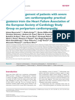 ESC Acute Management of PPCM