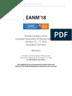 Presentaciones Congreso EANM 2018