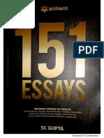 ESSAYS - Arihant Publications