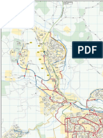 Cycle Map Dyce Bucksburn 2015