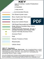 Cycle Map Key 2015