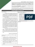 PV Conhec Basic Cargo 3,6 Aud Control Ext Administrativa Administração