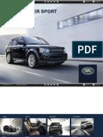 L320 Range Rover SPORT Catálogo 2013 USA 3892-12