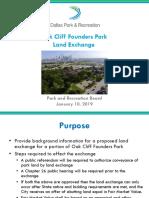 Oak Cliff Founders Park
