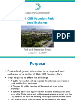 Oak Cliff Founders Park