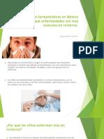 Laboratorios Farmaceuticos en Mexico Te Dice Que Enfermedades Son Mas Comunes en Invierno