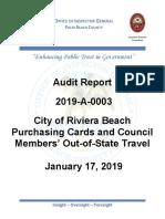 Riviera Beach Audit Document 1